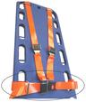 DMS BioThane<sup>®</sup> G1 Shoulder Harness Restraint System, Torso Strap Only, 5', Orange