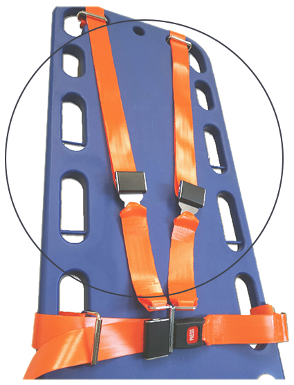DMS BioThane<sup>®</sup> G1 Shoulder Harness Restraint System, Shoulder Strap Only, 5', Black