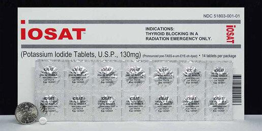 Anbex Iosat Potassium Iodide Tablets