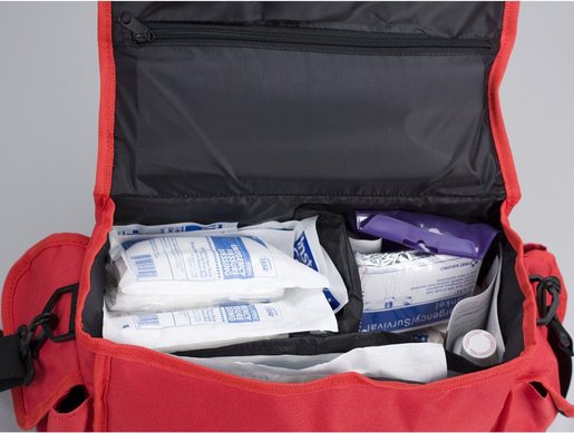 First Aid Only Deluxe First Responder Kit, Large, 158-piece