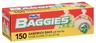 """Hefty Baggies Storage Bags with Twist Ties, 6 3/4"""" x 8"""""""