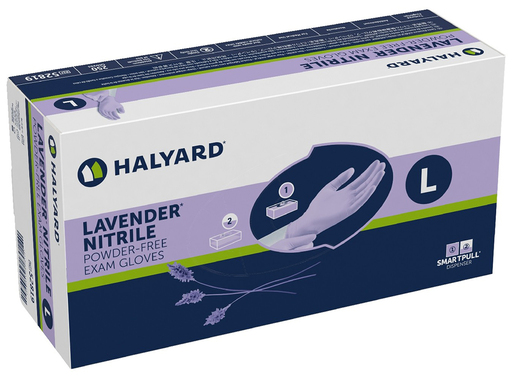 Kimberly-Clark<sup>™</sup> Nitrile Exam Gloves, Lavender