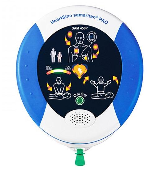 HeartSine samaritan<sup>&reg;</sup> PAD AED, Recertified, 300P