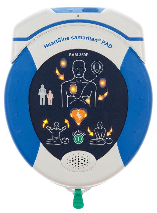 HeartSine samaritan<sup>&reg;</sup> PAD AED, Recertified, 350P
