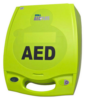 ZOLL AED Plus Automated External Defibrillator with Carry Case