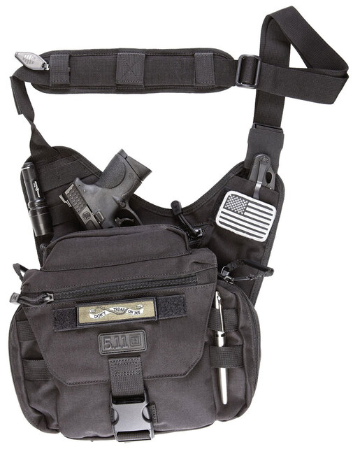 5.11<sup>®</sup> Push<sup>™</sup> Pack, Black