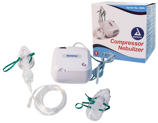 Dynarex<sup>®</sup> Portable Compressor Nebulizer