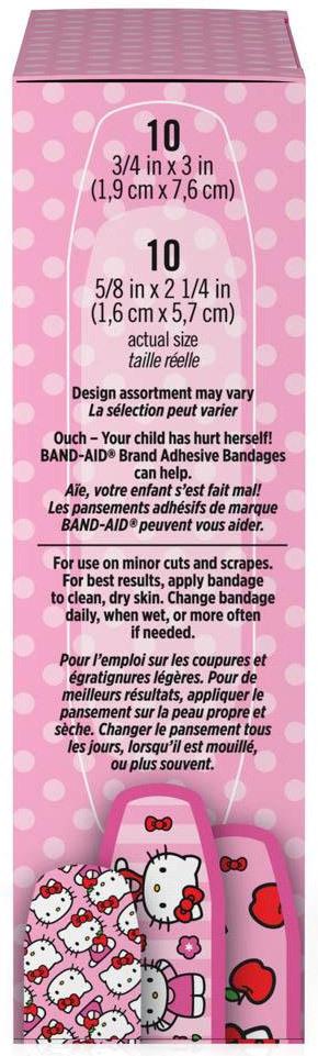 Johnson & Johnson Hello Kitty Band-Aid<sup>®</sup> Bandages, Assorted