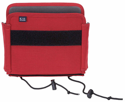 5.11<sup>&reg;</sup> Pocket Organizer, TPO II Turnout, Large, Fire Red