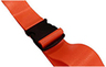 DMS BioThane<sup>®</sup> G1 Stretcher Straps, Plastic Side Release Buckle, 1-piece, 7', Orange