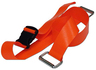DMS BioThane<sup>®</sup> G1 Stretcher Straps, Plastic Side Release Buckle with Metal Loops, 2-piece, 5', Orange