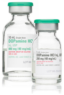 Dopamine Hydrochloride Injection, USP, 40mg/mL
