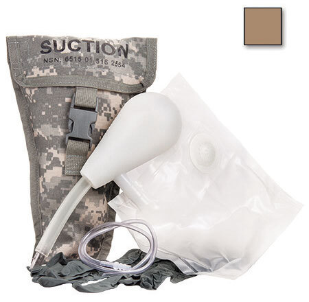 Curaplex<sup>®</sup> Tactical Field Suction Easy Kit In Nylon Case, Coyote Brown