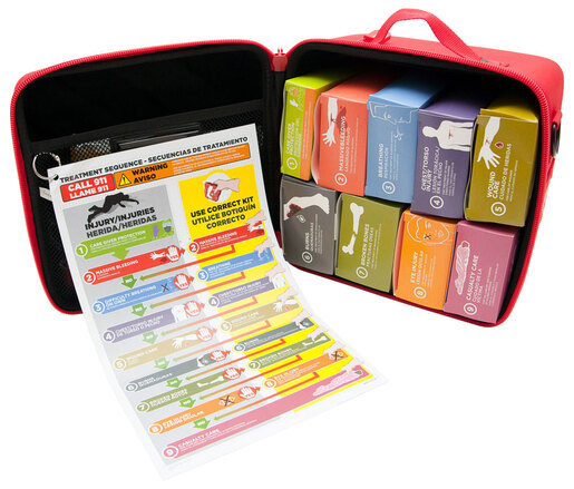 TacMed TRAMEDICUBE<sup>®</sup> Kits, Foam-Molded/Box Subkits