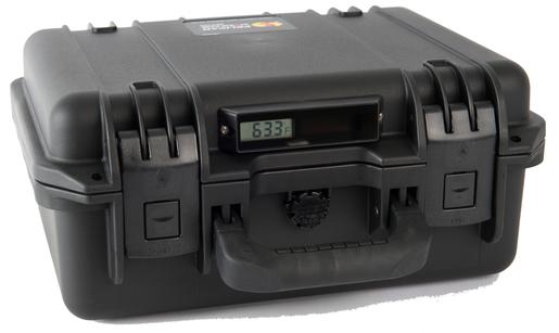FareTec LifeBox 50 with Digital Thermometer, Black