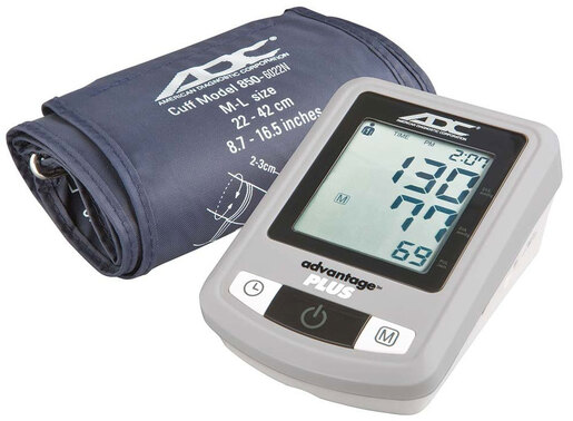ADC<sup>&reg;</sup> Advantage<sup>™</sup> Plus Automatic Digital Blood Pressure Monitor, Model 6022N
