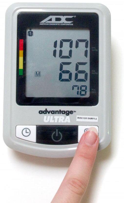 ADC<sup>®</sup> Advantage<sup>™</sup> Plus Automatic Digital Blood Pressure Monitor, Model 6022N