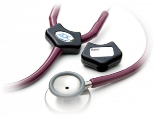 ADC<sup>&reg;</sup> Adscope<sup>™</sup> 602 Traditional Cardiology Stethoscope, Black