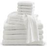 """Cotton Terry Towel, White, 20"""" x 40"""""""
