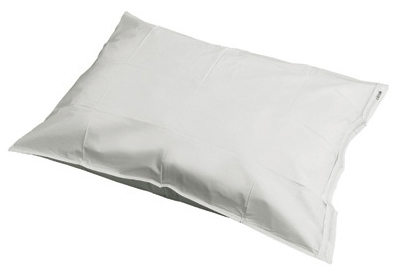 "Graham-Field<sup>™</sup> Pillow Case with Zipper, PVC, Plastic, 21"" x 27"""
