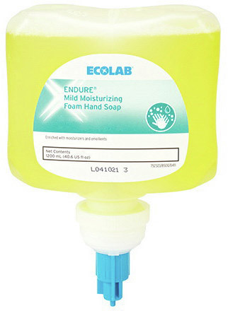 Ecolab<sup>®</sup> Next Generation Dispenser Refill, Moisturizing Hand Soap, 1200mL