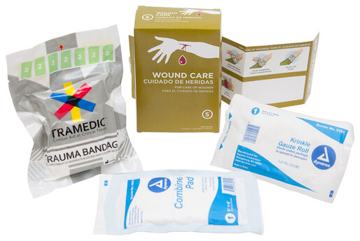 TacMed TRAMEDIC<sup>®</sup> Wound Care Sub Kit