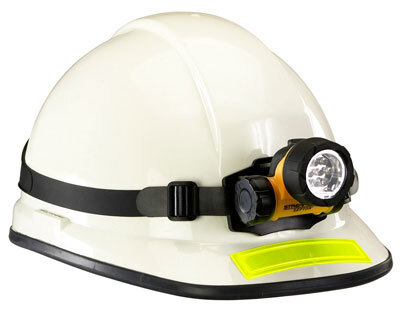 Septor<sup>®</sup> LED Headlamp with Battery and Straps, Yellow