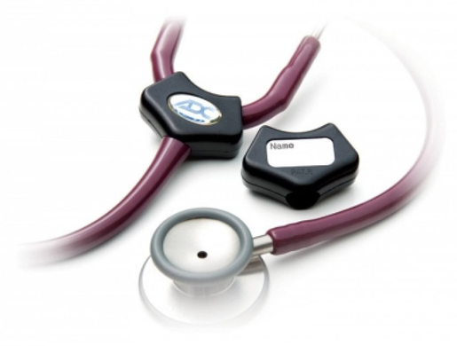 ADC<sup>&reg;</sup> Adscope-Lite<sup>™</sup> Stethoscope, Platinum Edition 612, Black