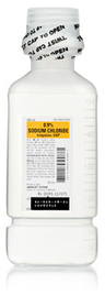 Sodium Chloride 0.9% Irrigation, USP, Pour Bottle, 500mL
