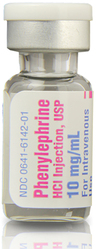 Phenylephrine Hydrochloride Injection, USP, 10mg/mL, 1mL Vial
