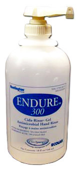 Ecolab<sup>®</sup> Endure 300 Cida-Rinse Antimicrobial Gel