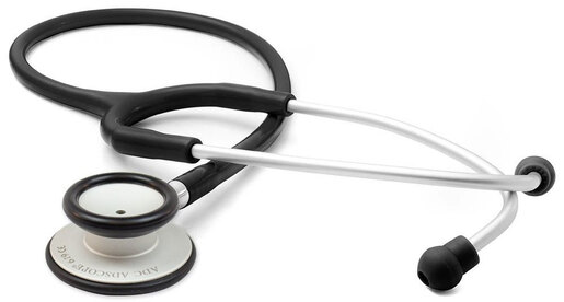 ADC Adscope<sup>®</sup> Lite 619 Stethoscope, Black