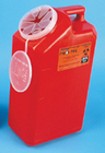 Sharps Pro-Tec Collection Conatiner, 3gal, Red