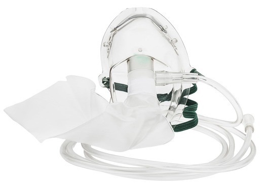 MedSource Partial Non-Rebreather Oxygen Mask, Pediatric