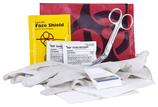 Curaplex<sup>®</sup> AED/Defibrillator Support Kit in Poly Bag