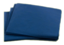 "Graham<sup>®</sup> Flat Sheet, Non-Woven, Dark Blue, 40"" x 84"""