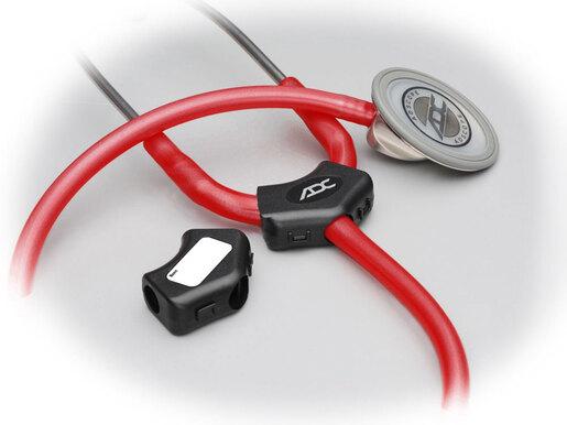 ADC Adscope<sup>®</sup> 658 Electronic Stethoscope, Adult, Black