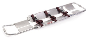 Ferno<sup>®</sup> Scoop<sup>™</sup> Stretcher, Model 65, Black Straps, With Pins and Speed Clips