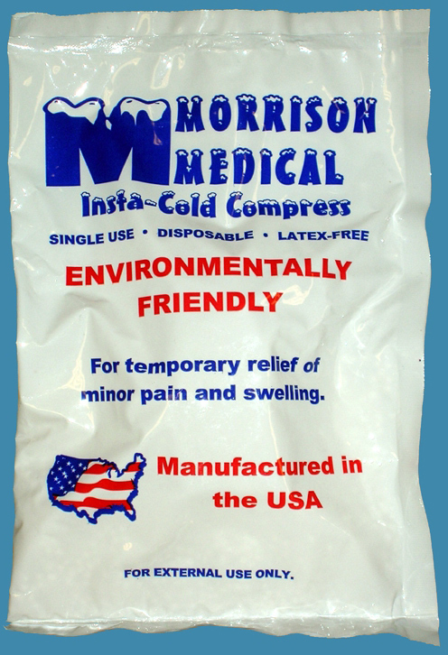 "Morrison Disposable Insta-Cold Packs, 6"" x 9"""