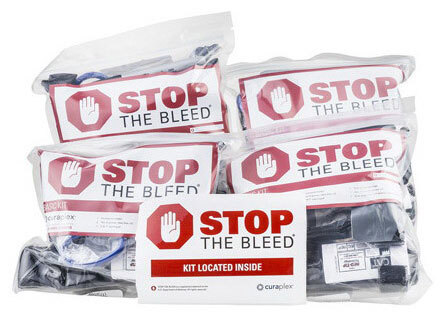 Curaplex<sup>&reg;</sup> Stop the Bleed<sup>&reg;</sup> Multi-Pack Kit, Basic