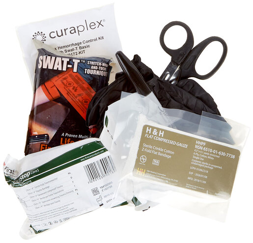 Curaplex<sup>®</sup> Basic Bleeding Control Kit with SWAT-T Tourniquet