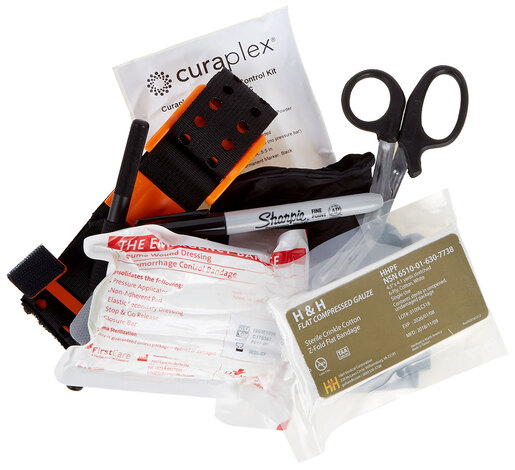 Curaplex<sup>®</sup> Basic Bleeding Control Kit with SAM XT Tourniquet