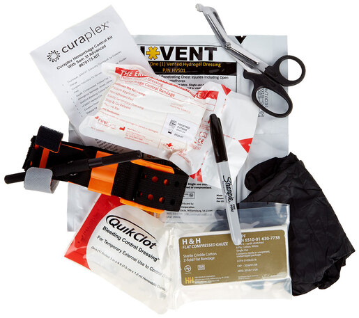 Curaplex<sup>®</sup> Advanced Bleeding Control Kit with SAM XT Tourniquet