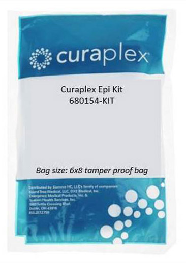 """Curaplex<sup>®</sup> Epi Kit with 25ga x 1"""" Needle and 1cc Syringe in Tamper Proof Bag"""