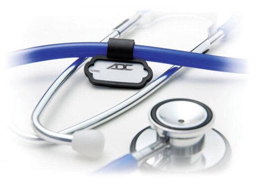 ADC<sup>&reg;</sup> Stethoscope ID Tag, Black