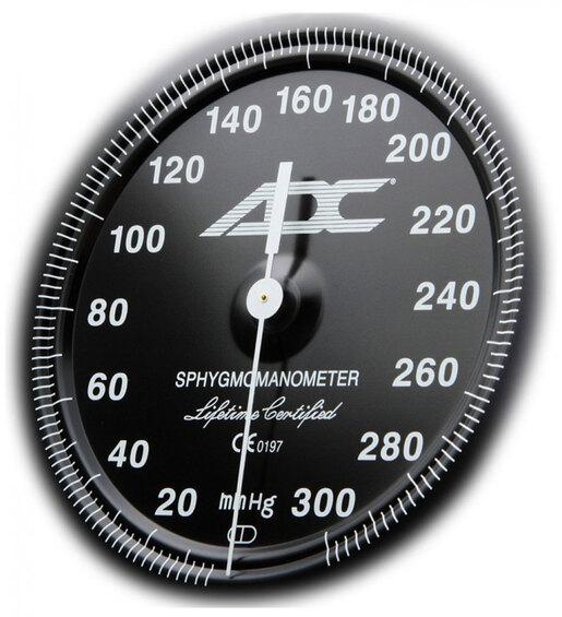 ADC<sup>&reg;</sup> Diagnostix<sup>™</sup> 700 Pocket Blood Pressure Cuff/Aneroid Sphyg, Breast Cancer Awareness Edition, Adult