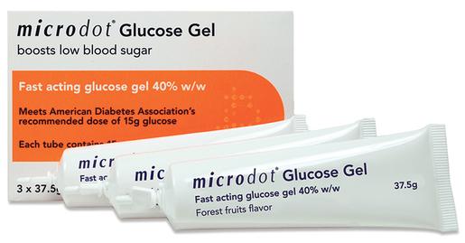 Microdot<sup>®</sup> Glucose Gel
