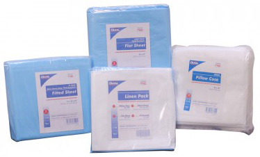 DUKAL<sup>®</sup> Disposable Pillow Cases, Fluid-resistant, White