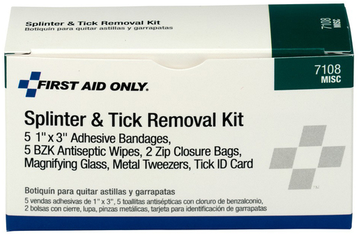First Aid Only<sup>®</sup> Pac-Kit Splinter and Tick Removal Kit
