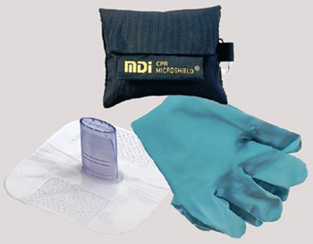 MDI CPR Microkey-Pro<sup>™</sup>, Neon Orange Pouch